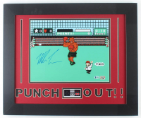 Mike Tyson Signed 19.5x23.5 Custom Framed Photo Display (Beckett COA & Fiterman Sports Hologram) at PristineAuction.com