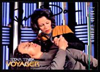 Roxann Dawson Signed 1995 Star Trek Voyager Series 2 #51 Faces (JSA COA) at PristineAuction.com