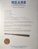 Ty Cobb Game-Used Zinn Beck Baseball Bat (Mears LOO - Grade A6) at PristineAuction.com
