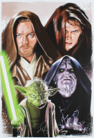 "Tony Santiago - ""Star Wars: Revenge of the Sith"" - 13x19 Signed Lithograph (PA COA) at PristineAuction.com"