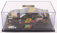 Rusty Wallace LE #2 Miller Special / 1996 Ford Thunderbird 1:24 Scale Die Cast Car with Display Case at PristineAuction.com