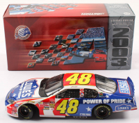 Jimmie Johnson LE #48 Lowe's Power of Pride / 2003 Monte Carlo 1:24 Scale Die-Cast Car at PristineAuction.com