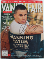 Channing Tatum Signed 2013 Vanity Fair Magazine (JSA COA) at PristineAuction.com