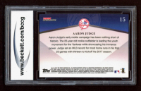 Aaron Judge 2017 Topps On Demand 600 Home Run Club #15 RC (BCCG 10) at PristineAuction.com