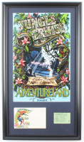 "Disneyland Adventureland's ""Jungle Cruise"" 14.5x25.5 Custom Framed Print with Vintage Photo Portfolio & Vintage Ticket at PristineAuction.com"