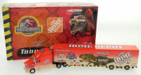 Tony Stewart LE #20 Home Depot / Jurassic III / 2001 1:64 Scale Die-Cast Hauler at PristineAuction.com