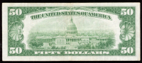 1934 $50 Fifty-Dollar Green Seal U.S. Federal Reserve Note at PristineAuction.com