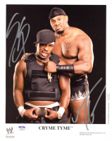 JTG & Shad Gaspard Signed WWE 8x10 Photo (PSA COA) at PristineAuction.com