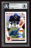 Mike Singletary Signed 1992 Upper Deck #568 (BGS Encapsulated) at PristineAuction.com