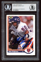 Mike Singletary Signed 1991 Upper Deck #229 (BGS Encapsulated) at PristineAuction.com