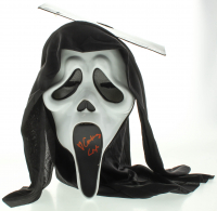 "Courtney Cox Signed Full-Size ""Scream"" Ghostface Mask (JSA COA) at PristineAuction.com"