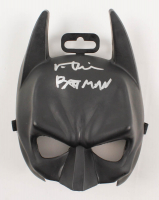 "Val Kilmer Signed ""Batman Forever"" Batman Mask Inscribed ""Batman"" (Beckett COA) at PristineAuction.com"