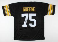 """Joe Greene Signed Jersey Inscribed """"HOF 87"""" (JSA Hologram) at PristineAuction.com"""