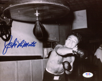 Jake LaMotta Signed 8x10 Photo (PSA Hologram) at PristineAuction.com