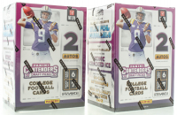 Lot of (2) 2020 Panini Contenders Draft Picks Football Blaster Box with (7) Packs at PristineAuction.com