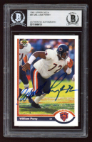 William Perry Signed 1991 Upper Deck #45 (BGS Encapsulated) at PristineAuction.com
