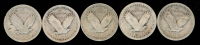 Lot of (5) 1927-1929 Standing Liberty Quarters at PristineAuction.com