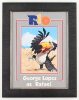 George Lopez Signed Rio 15.5x19.5 Custom Framed Photo (Beckett COA) at PristineAuction.com