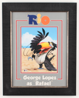 George Lopez Signed Rio 15.5x19.5 Custom Framed Photo (Beckett COA) at PristineAuction.com