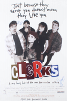 """Kevin Smith & Jason Mewes """"Clerks"""" Signed 27x40 Poster (JSA COA) at PristineAuction.com"""