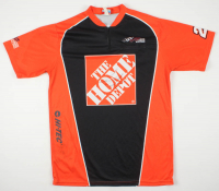Joey Logano Signed Race-Used Joe Gibbs Racing Jersey (Pristine Authentic COA) at PristineAuction.com