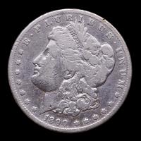 1890-CC Morgan Silver Dollar at PristineAuction.com