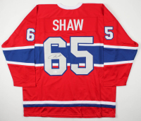 Andrew Shaw Signed Jersey (JSA COA) at PristineAuction.com