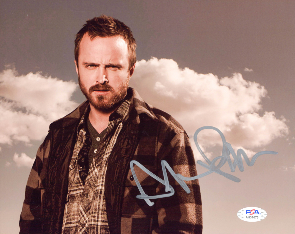 """Aaron Paul Signed """"Breaking Bad"""" 8x10 Photo (PSA Hologram) at PristineAuction.com"""
