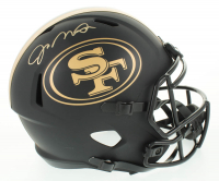 Joe Montana Signed 49ers Full-Size Eclipse Alternate Speed Helmet (Schwartz Sports COA) at PristineAuction.com