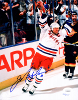 Mark Messier Signed LE Rangers 8x10 Photo (JSA COA & Steiner COA) at PristineAuction.com