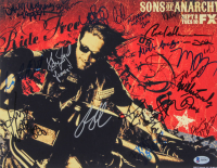 """Sons of Anarchy"" 11x14 Photo Signed by (19) with Charlie Hunnam, Katey Sagal, Ron Perlman, Kurt Sutter (Beckett LOA) at PristineAuction.com"
