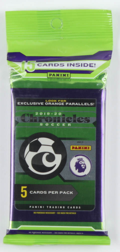 2019-20 Panini Chronicles Soccer Cello Pack with (15) Cards at PristineAuction.com