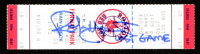 """Robin Yount Signed Authentic 1993 Red Sox vs Brewers Ticket Inscribed """"Last Game"""" (JSA COA) at PristineAuction.com"""