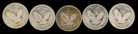 Lot of (5) 1926-1930 Standing Liberty Quarters at PristineAuction.com