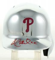 Andrew McCutchen Signed Phillies Chrome Mini Batting Helmet (Beckett COA) at PristineAuction.com