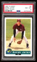 Derek Jeter 1992 Classic Draft Picks #6 (PSA 8) at PristineAuction.com