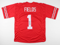 Justin Fields Signed Jersey (JSA Hologram) at PristineAuction.com