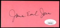 James Earl Jones Signed 2.5x5 Cut (JSA COA) at PristineAuction.com