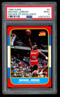 Michael Jordan 1996-97 Fleer Decade of Excellence #4 (PSA 9) at PristineAuction.com