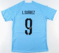 Luis Suarez Signed Team Uruguay Jersey (Beckett COA) at PristineAuction.com