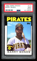 Barry Bonds 1986 Topps Traded #11T XRC (PSA 9) (OC) at PristineAuction.com