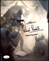 "Richard Bonehill Signed ""Star Wars: Return of the Jedi"" 8x10 Photo Inscribed ""Stormtroopers"" (JSA COA) at PristineAuction.com"