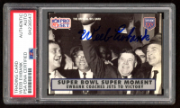 Weeb Ewbank Twice-Signed 1990-91 Pro Set Super Bowl 160 #138 RC (PSA Encapsulated) at PristineAuction.com