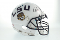 Clyde Edwards-Helaire Signed LSU Tigers Full-Size Authentic On-Field Helmet (Beckett COA) at PristineAuction.com