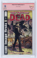 """Tony Moore Signed 2020 """"The Walking Dead"""" Issue #1 Image Firsts Comic Book (CBCS Encapsulated) at PristineAuction.com"""
