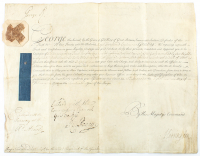 King George II Signed 1740 Military Commission Document (JSA ALOA) at PristineAuction.com