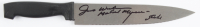 """Jim Winburn Signed """"Halloween"""" Stainless Steel Knife Inscribed  """"Stunts"""" & """"Michael Myers"""" (Legends COA) at PristineAuction.com"""