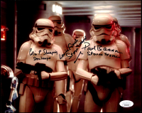 "Paul Bannon Signed ""Star Wars"" 8x10 Photo Inscribed ""Stormtrooper"" (JSA COA) at PristineAuction.com"