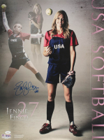 Jennie Finch Signed Team USA 18x24 Poster (JSA COA) at PristineAuction.com