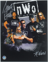 Scott Hall & Kevin Nash Signed 11x14 Photo (Pro Player Hologram) at PristineAuction.com